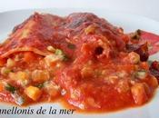 Cannellonis (thon petits légumes)