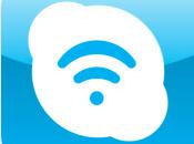 Skype Wifi lance iPhone