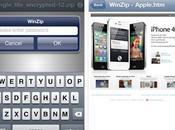 WinZip gratuitement votre iPhone