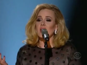 performance d'Adele Grammy Awards 2012 époustouflante