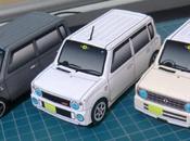 Papercraft 'Suzuki Lapin'