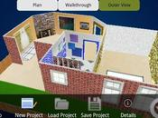 application Android pour modélisation maison