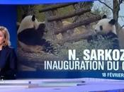 premiers visiteurs pour Sarkozy sont pandas [Vidéo]
