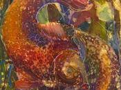 Batik, hier aujourd'hui Partie L'effet batik l'aquarelle