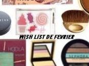 Wishlist Février