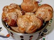 Hallah (pain brioché) farine semi-complète