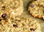 Petits gâteaux flocons d'avoine gingembre confit (vegan)