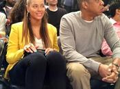 Beyoncé Jay-Z assistent match Knicks/Nets