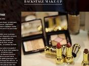 Dior Backstage Make-up, nouveau site marque Haute Couture!