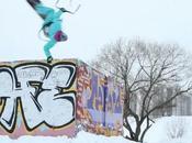 Street Snowkiting Moscow with Kiteclass Crew