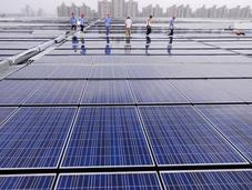 système photovoltaïque géant Danemark