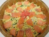 Sushi cinq trésors Chirashi-zushi ちらし寿司