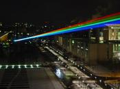 arc-en-ciel laser