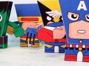 FlatHeads Series Marvel Heroes