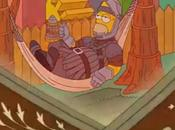Simpsons rendent hommage Game Thrones