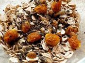 Muesli énergisant super aliments: aguaymanto cacao