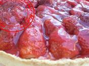Tarte fraises crème patissière
