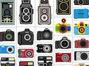 Camera Collection illustrations vectorielles d'appareils photos