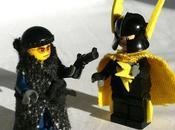 Transformer figurine Lego super héros