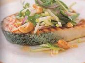 Darnes saumon herbes noix cajou (Thaï)
