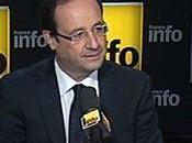 François Hollande invité France Info