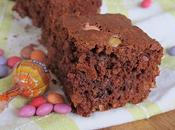 Brownies Smarties flocons d'avoine