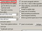 Touche efface (backspace) fonctionne plus avec Word 2003