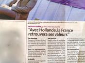 Avec Hollande, France retrouvera valeurs