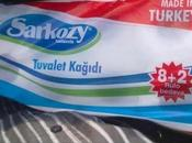 Sarkozy, tuvalet kagidi (sic)