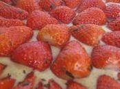 Tarte fraises amandes