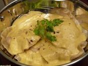 Ravioles poulet sauce curry