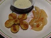 Rondelles Quenelles brochet poires sauce roquefort