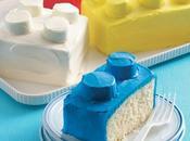 gâteaux brique LEGO