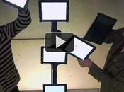 iPad quelques tours magie pour promouvoir Stockholm