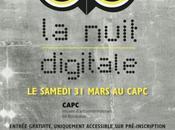 Actu Bordeaux CAPC accueille nuit digitale mars, Semaine Digitale expériences digitales rendez-vous
