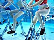 L'aquabiking vélo sous l'eau fait carton plein