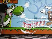 SLICK CALE Super Mario Graffiti Video