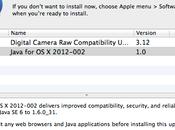 Apple place discrètement mise jour sécurité Java correctif