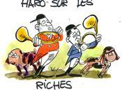 Cliché Socialisme Taxons riches pour aider pauvres