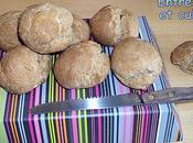 """Petits pains complets farine maïs """"rapides"""""""
