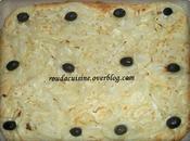 Pizza blanche l'oignon
