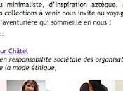 Nouvelle newsletter d'Éthik BGC: vent d'exotisme souffle gardes robes