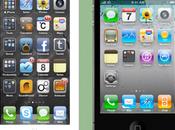 l'iPhone était doté d'un écran pouces images concept