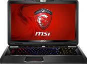 Nouveau portable GT70 pour gamers