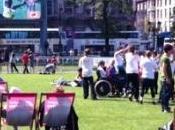 2012 Suivre Jeux Ecrans Géants Londres