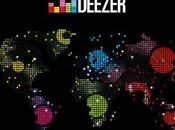 Deezer disponible Canada, Nouvelle Zélande Australie