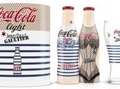 Jean Paul Gaultier habille bouteilles Coca Cola Light