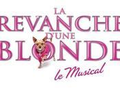 Revanche d'une Blonde, Musical découvrez visage blonde française