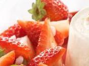 Faisselle coulis fruits rouges