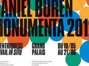 Daniel Buren Monumenta 2012 Excentrique(s) Travail Situ Grand Palais Eléments biographie quelques oeuvres